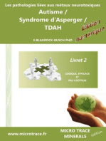 Les pathologies liées aux métaux neurotoxiques Autisme / Syndrome d'Asperger / TDAH: Livret 2