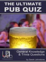The Ultimate Pub Quiz