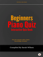 Beginners Piano Quiz