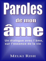 Paroles De Mon Âme