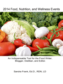 2014 Food, Nutrition, and Wellness Events
