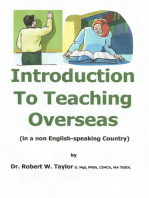 Introduction to Teaching Overseas