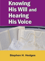 Knowing His Will and Hearing His Voice