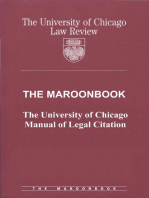 The Maroonbook