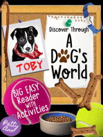 Discover Through A DOG's World ~ Big Easy Reader with Activities