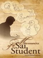 Memoirs Of A Sai Student