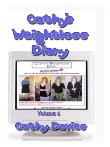 Cathy's Weightloss Diary Volume 1 2001-2003