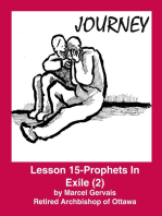 Journey -Lesson 15 - Prophets in Exile (2)