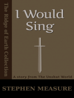 I Would Sing (Short Story)