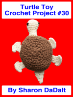 Turtle Toy Crochet Project #30