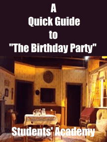 "A Quick Guide to ""The Birthday Party"""