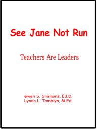See Jane Not Run