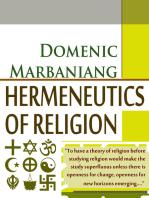 Hermeneutics Of Religion