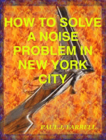 How To Solve A Noise Problem In New York City