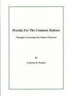 Provide For The Common Defense