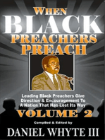 When Black Preachers Preach Volume 2