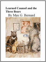 Learned Counsel and the Three Bears