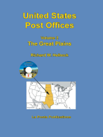 United States Post Offices Volume 2 The Great Plains