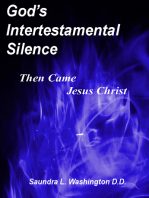 God's Intertestamental Silence