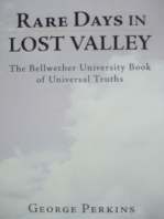 Rare Days in Lost Valley
