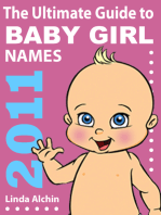 The Ultimate Guide to Baby Girl Names 2011