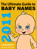 The Ultimate Guide to Baby Names 2011