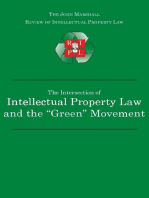 "The Intersection of Intellectual Property Law and the ""Green"" Movement: RIPL's Green Issue 2010"