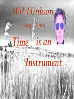 Time is an Instrument Song Lyrics