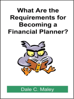 What are the Requirements for Becoming a Financial Planner?