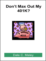 Don't Max Out My 401K?