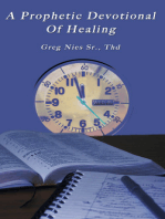 A Prophetic Devotional of Healing