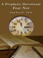 A Prophetic Devotional Fear Not