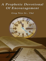A Prophetic Devotional of Encouragement