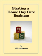 Starting a Home Day Care Business