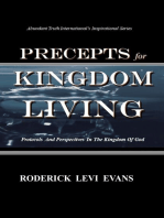 Precepts for Kingdom Living