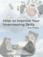 How to Improve Your Interviewing Skills