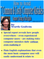 How to Avoid 7 Common & Costly Computer Mistakes