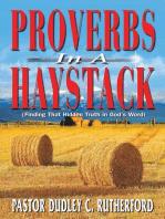 Proverbs in a Haystack