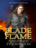 Blade and Flame (Prequel to The Kobalos Trilogy)