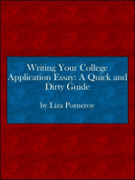 Writing Your College Application Essay
