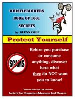 Whistleblowers Book of 1001 Secrets