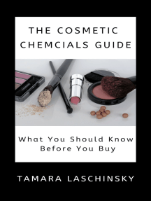 The Cosmetic Chemicals Guide: What You Should Know Before You Buy