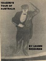Houdini's Tour of Australia