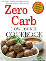 Zero Carb Slow Cooker Cookbook