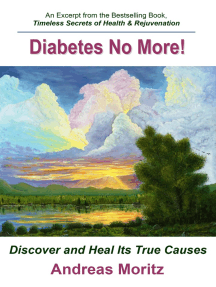 Diabetes: No More!