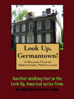 Look Up, Philadelphia! A Walking Tour of Germantown