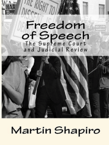 Freedom of Speech: The Supreme Court and Judicial Review
