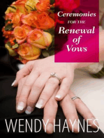 Ceremonies for the Renewal of Vows