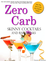 Zero Carb Skinny Cocktails and Bar Drinks