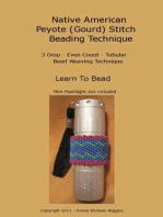 Native American Peyote (Gourd) Stitch Beading Technique
